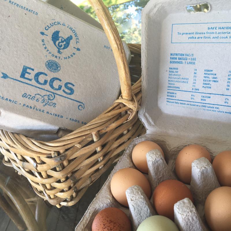 Cluck & Trowel Eggs