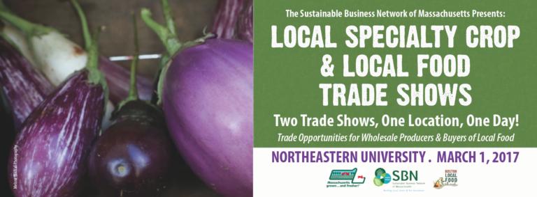 Specialty Crop & Local Food Trade Shows!