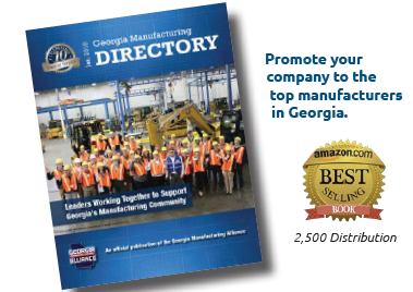Georgia Manufacturing Events and Ad Discounts on our Amazon Best