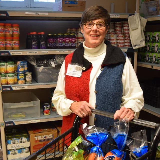 Cass Book Social Service Center Food Pantry volunteer
