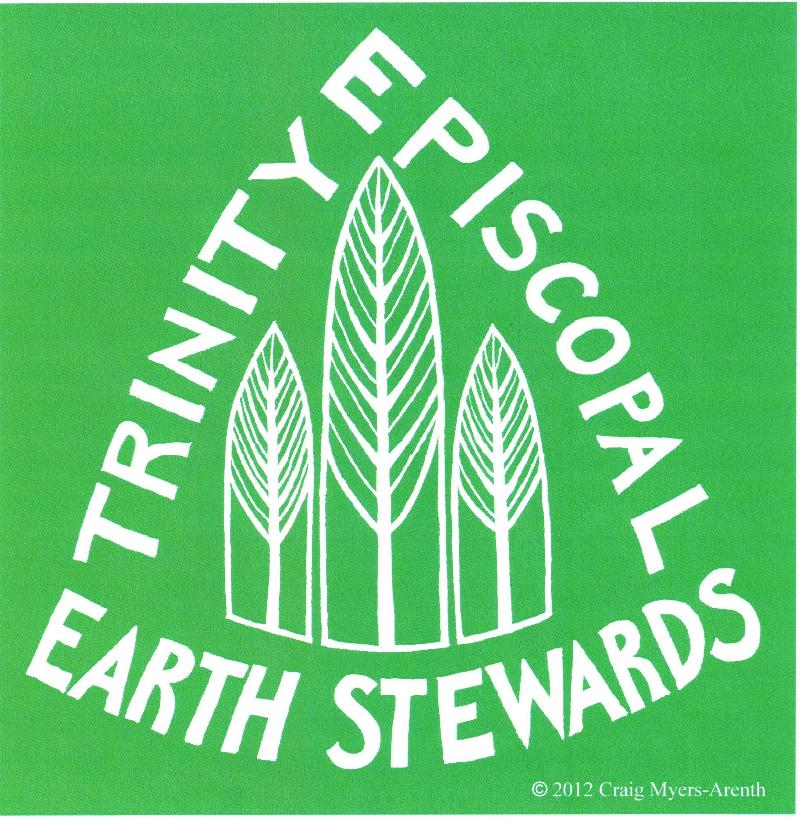 Trinity Episcopal Earth Stewards Logo for t shirt
