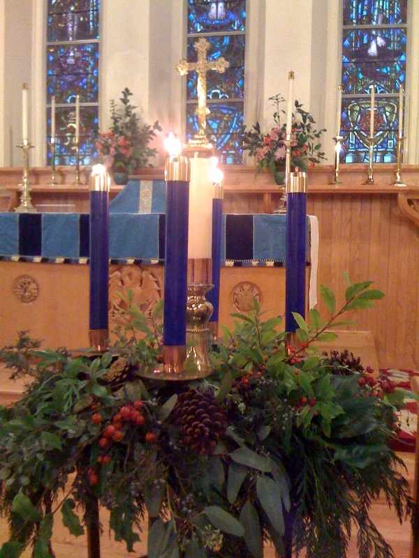 Advent III Wreath