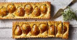 Lemon & Thyme Pear Tart