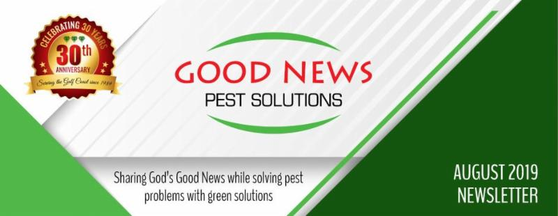 Good News Pest - August newsletter