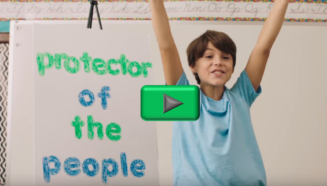 Protector of the People video