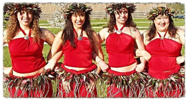 Troupe Red Tahitian