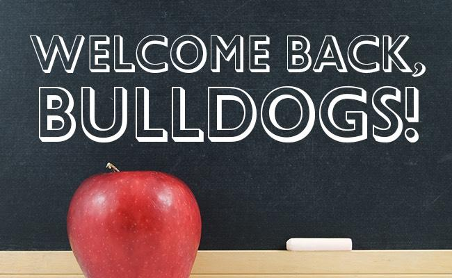 Image result for welcome back bulldogs