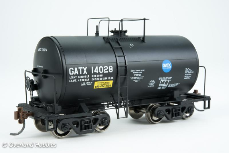 Overland Hobbies] New Arrival Athearn 8,000 gal Tank Car Dec