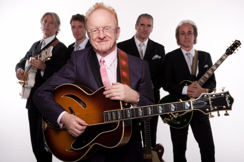 Peter Asher and band