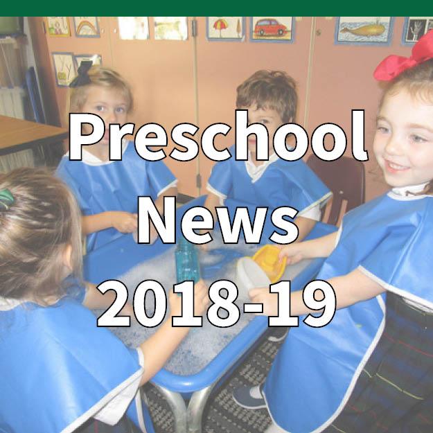 Preschool Newsletter October 2018