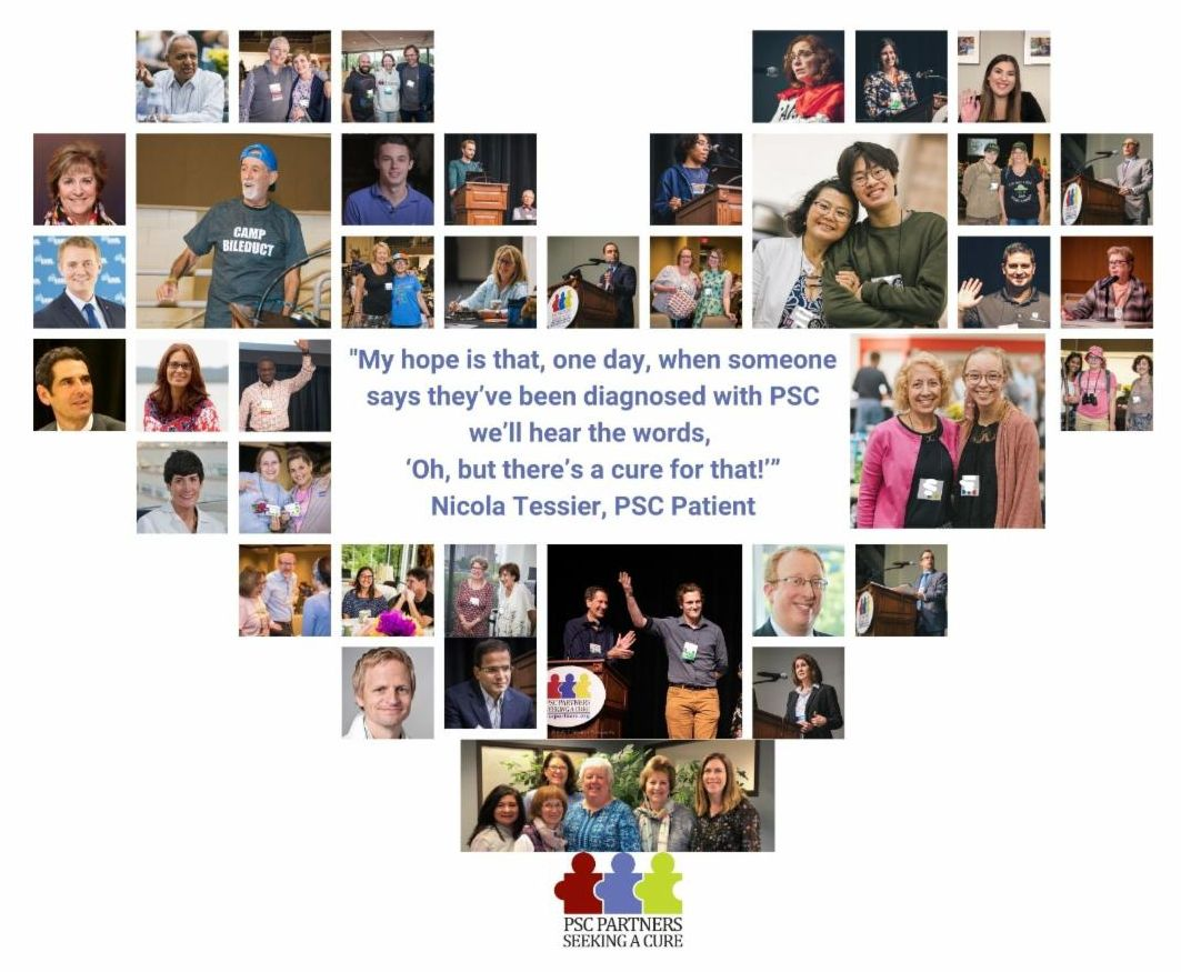 Heart Graphic with Photos of PSC Community people