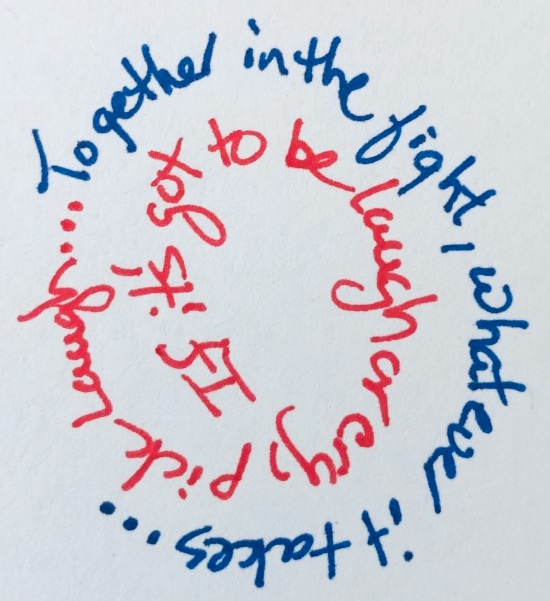 Sandi's Circle Graphic