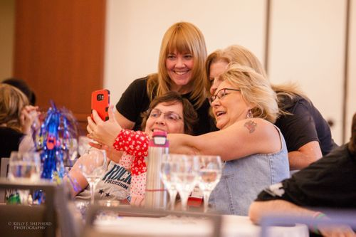 Women taking selfie at PSC Partners Conference