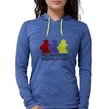 Woman in PSC PSC Partners shirt