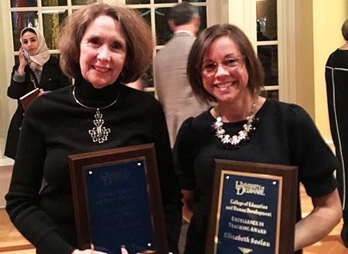Cynthia Paris and Elizabeth Soslau