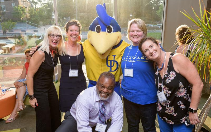 YoUDee and friends at CEHD Alum Reception