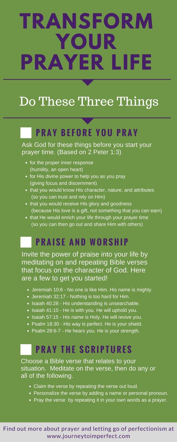 Prayer Transform