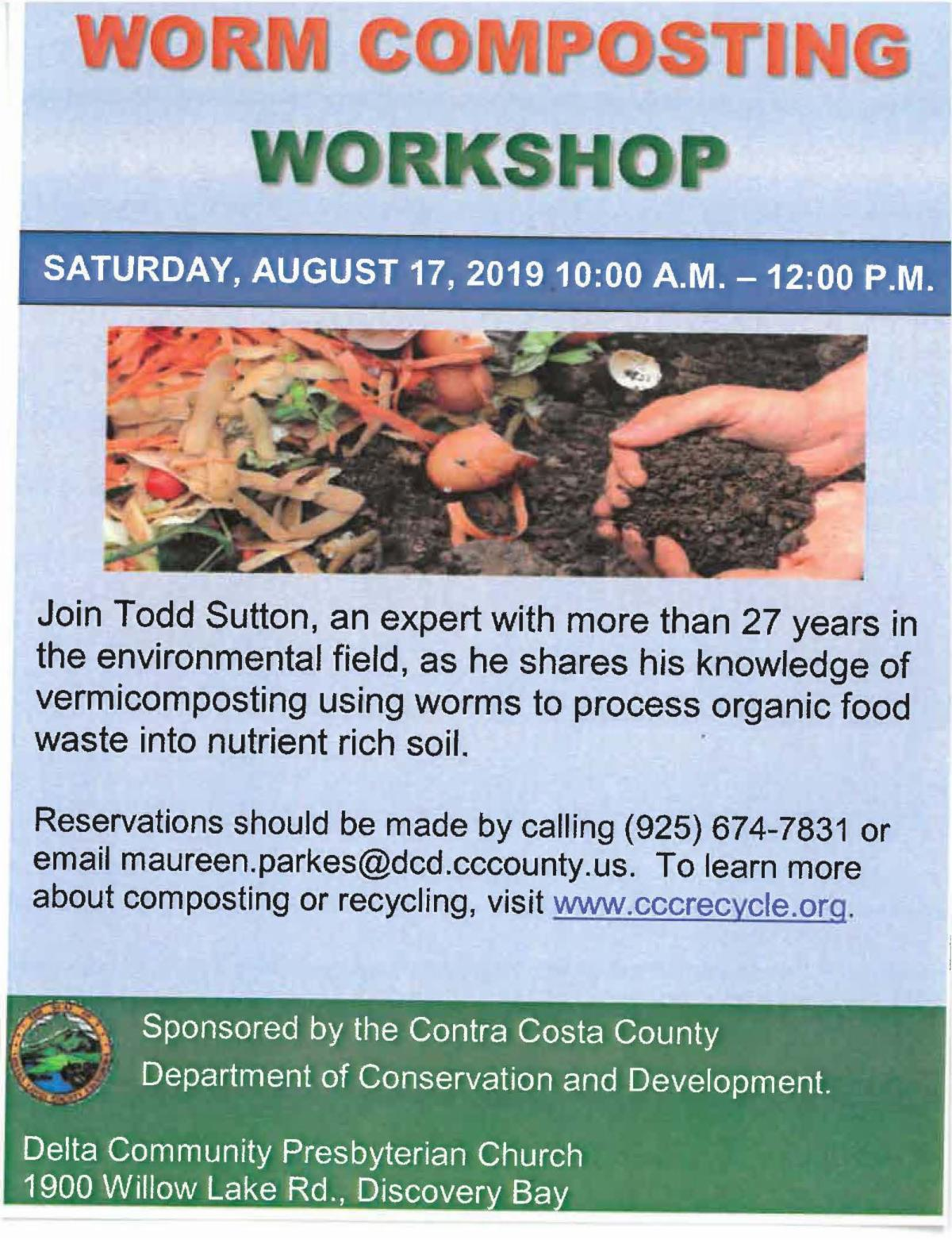worm composting flyer
