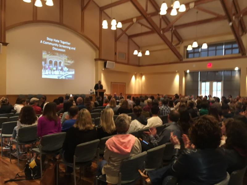 300 gather in Mill Valley Community Center for Light in the Darkness screening