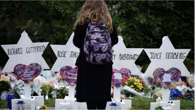 Pittsburgh Tree of Life Synagogue memorial