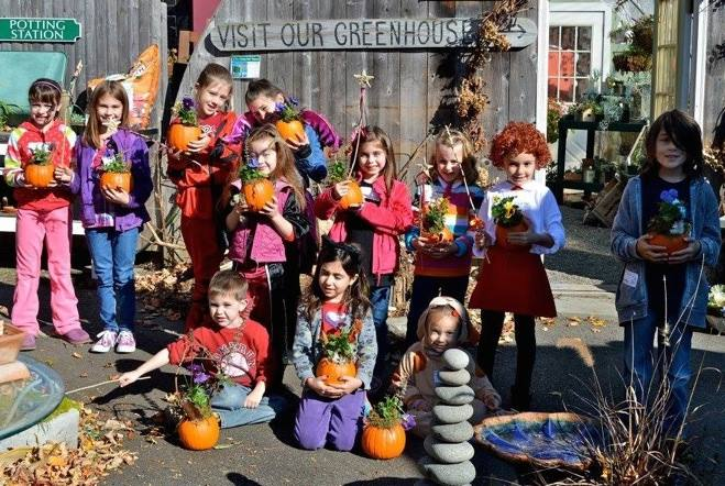Pumpkin Planting with Kids workshop