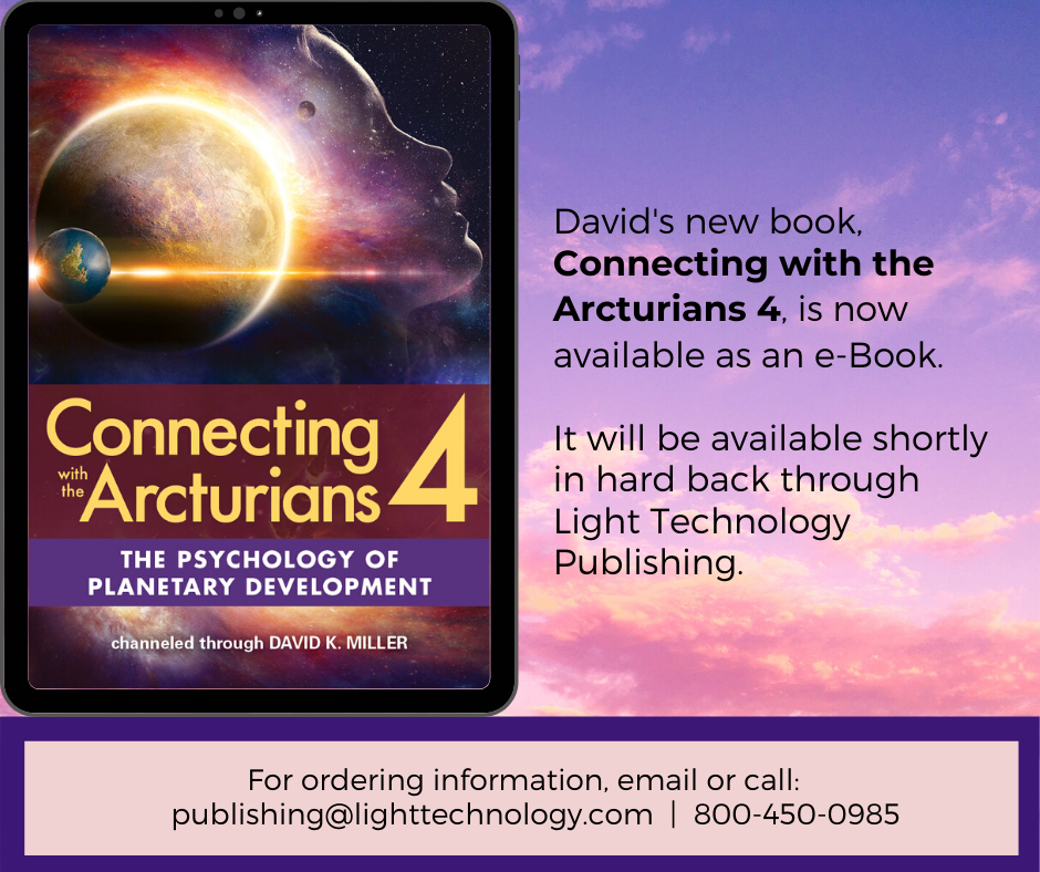 Connecting with the Arcturians 4 book announcement