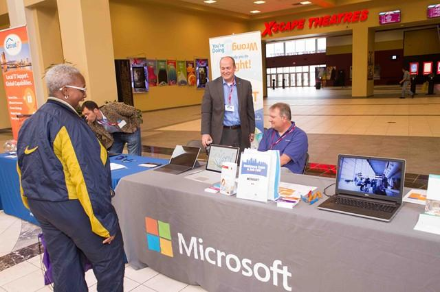 Microsoft at the 2016 Business Expo