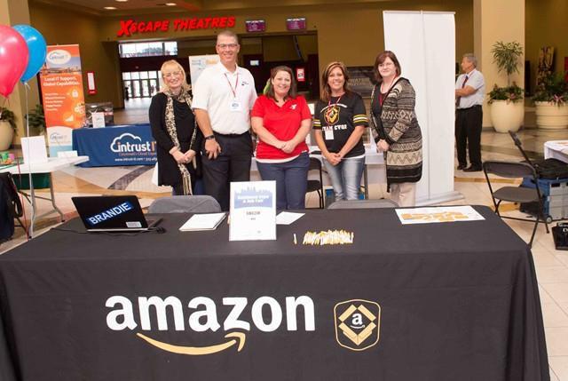 Amazon booth a the 2016 Business Expo