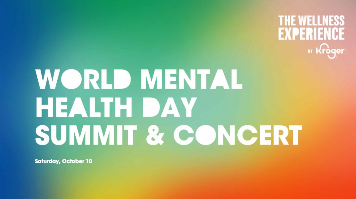 World Mental Health Day Summit & Concernt details