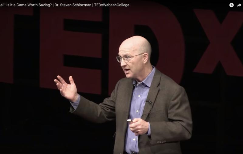Steve Schlozman on TEDx stage