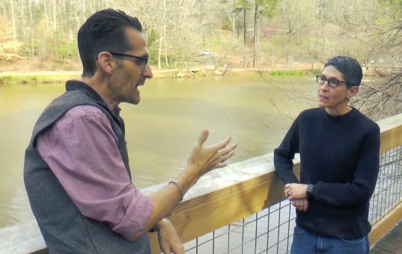 Dietitian Ellen Steinberg speaks with Hans Rueffert on digestion