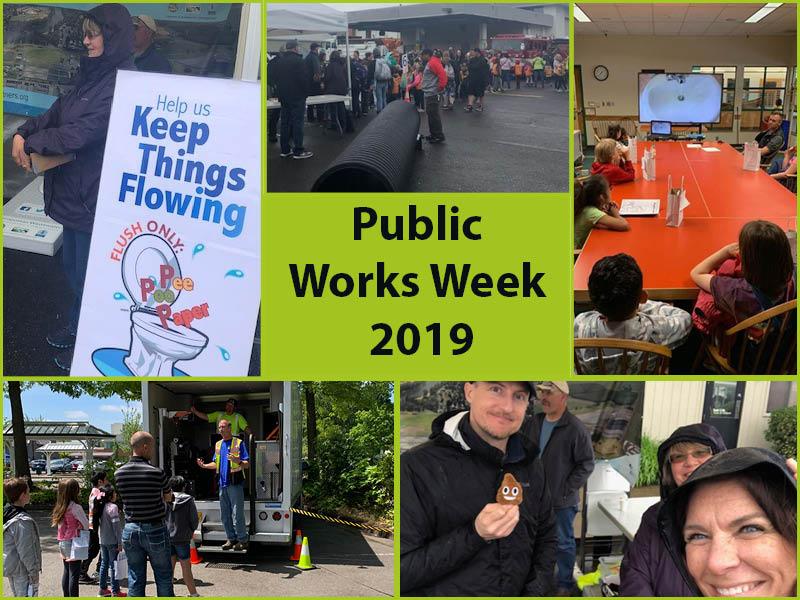 Public Works Week collage