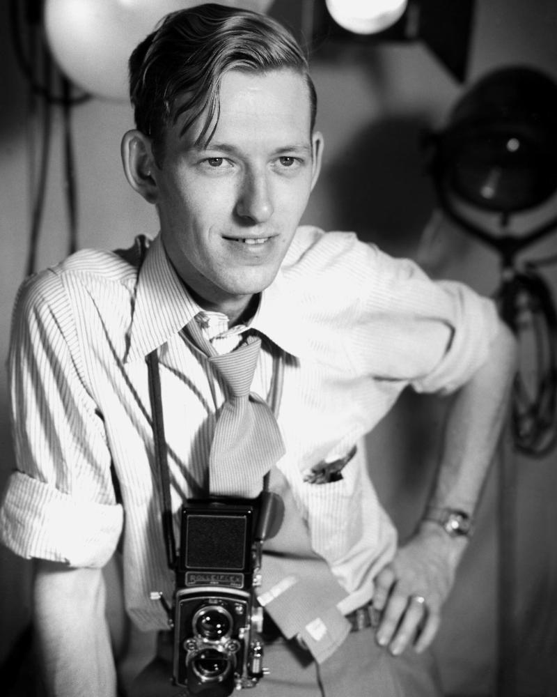 Ed Westcott, 1949. Photo courtesy of DOE Oak Ridge Office.