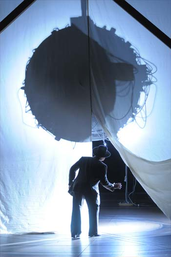 """The """"Doctor Atomic"""" opera during a performance at The Met."""