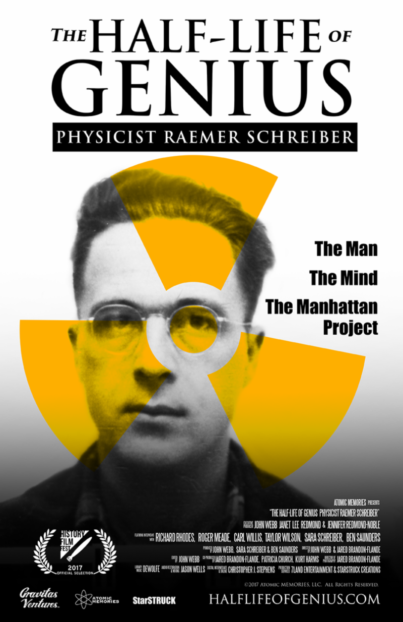 Poster for The Half-Life of a Genius