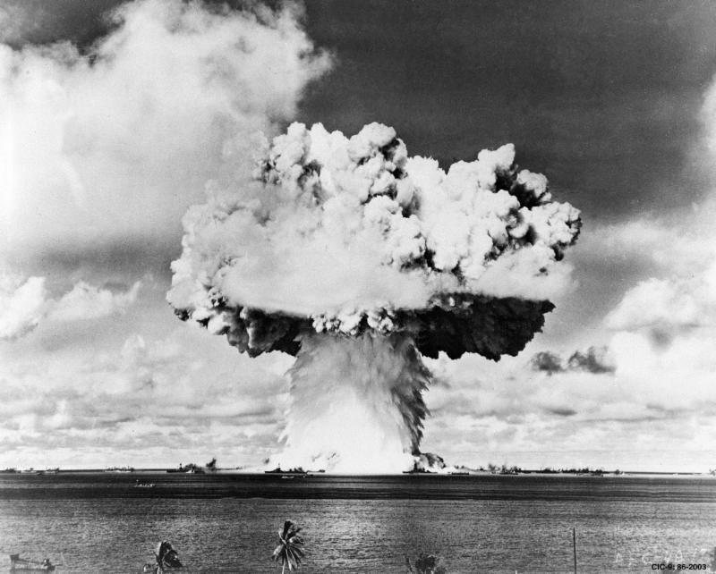 Baker test of Operation Crossroads, July 25, 1946