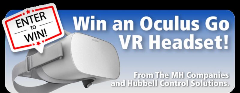 Win an Oculus Go VR Headset Banner