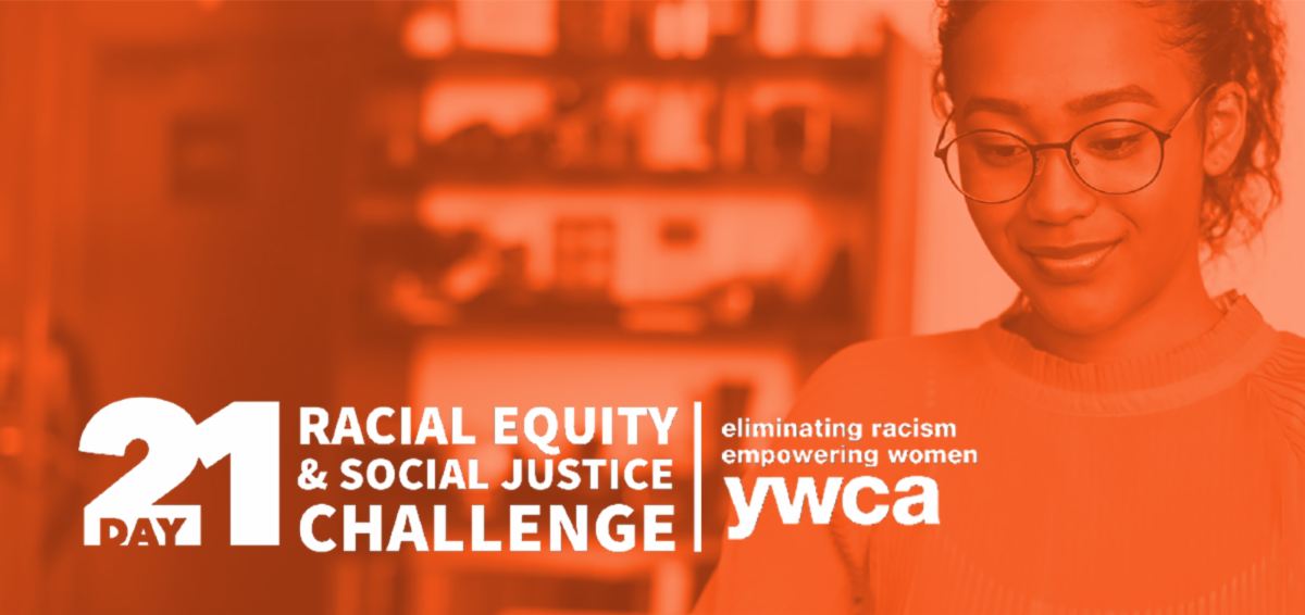 promo image for the YWCA Racial Equity Challenge