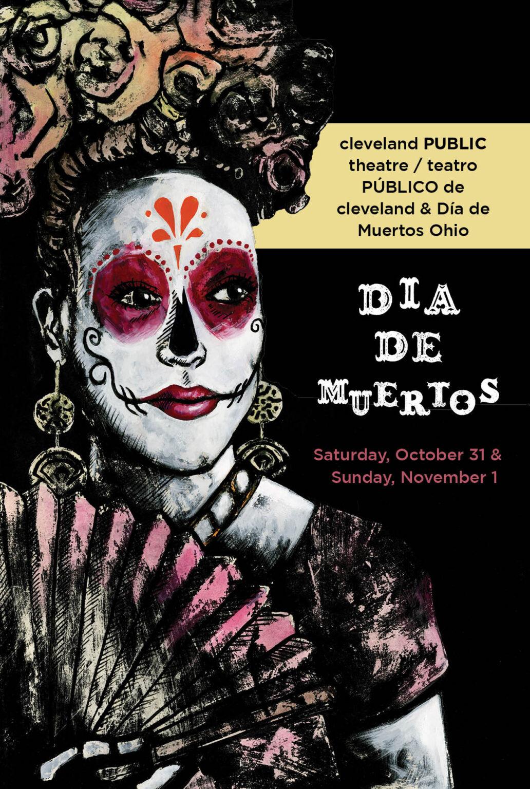 Dia de Muertos promo flyer