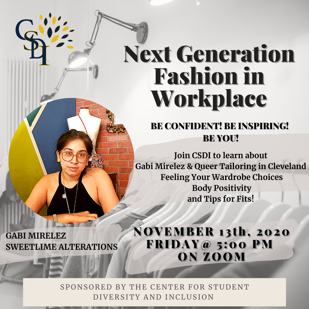 promo image for Next Generation Fashion in the Workplace program