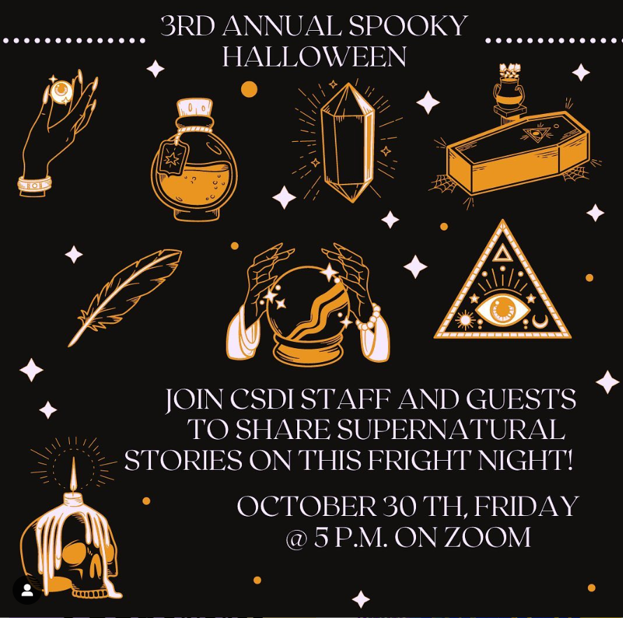 Promo image for Spooky Halloween program