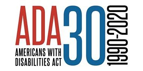 Image reading ADA 30 - Americans with Disabilities Act - 1990-2020