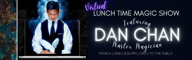 promo image for Dan Chan master magician