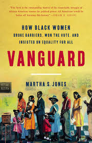 Image of the book cover for Vanguard by Martha Jones