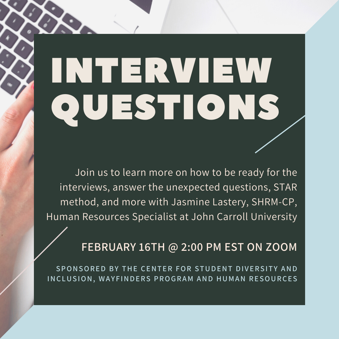 promo image for Interview Questions workshop