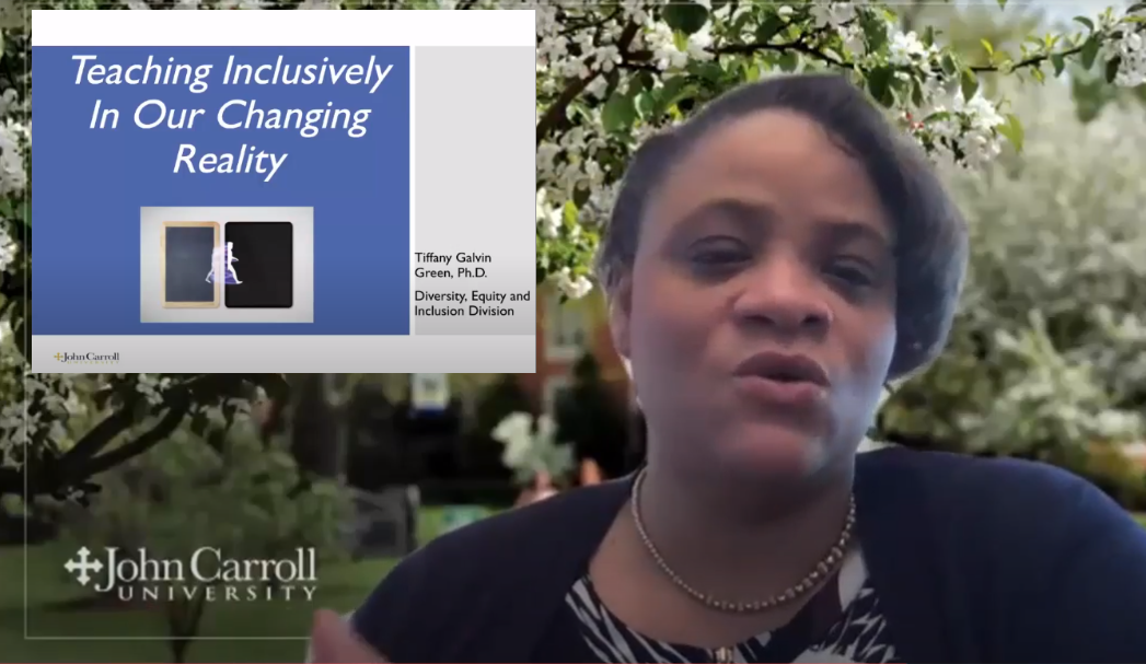 Clip from Teaching Inclusively webinar - April 2020