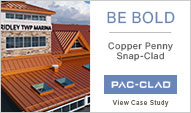 www.pac-clad.com for metal roofing and metal wall panels