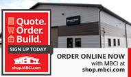 www.mbci.com for metal roof and wall products