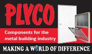 www.plyco.com for components for the metal building industry