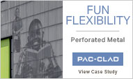 www.pac-clad.com for perforated metal panels